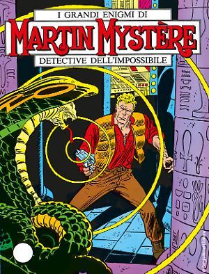 Gli Uomini in Nero - Martin Mystère 01 cover