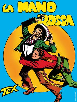 La Mano Rossa - Tex 01 cover