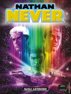 Sugli asteroidi - Nathan Never 322 cover