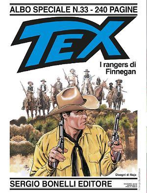 I rangers di Finnegan - Speciale Tex 33 cover