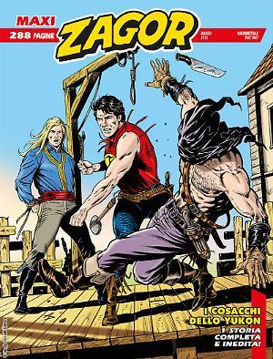 I cosacchi dello Yukon - Maxi Zagor 33 cover