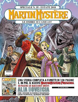 Le ombre di Camelot - Speciale Martin Mystère 35 cover