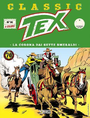 La corona dai sette smeraldi - Tex Classic 36 cover