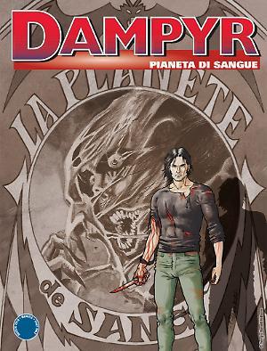 Pianeta di sangue - Dampyr 221 cover