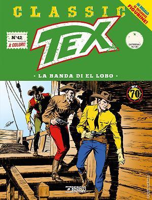 La banda di El Lobo - Tex Classic 42 cover