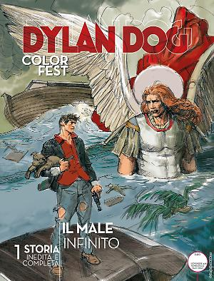 Il male infinito - Dylan Dog Color Fest 27 cover
