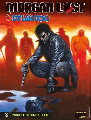 Incubi e serial killer - Morgan Lost & Dylan Dog 01 cover