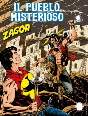 Il pueblo misterioso - Zagor 644 cover