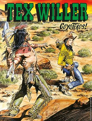 Coyoteros! - Tex Willer 06 cover