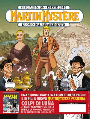 L'uomo dal Rinascimento - Speciale Martin Mystère 36 cover