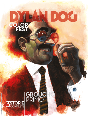 Groucho Primo - Dylan Dog Color Fest 30 cover