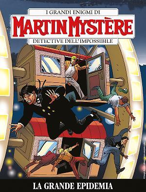 La grande epidemia - Martin Mystère bimestrale 365 cover