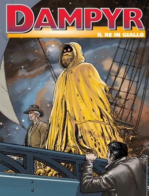 Il re in giallo - Dampyr 235 cover