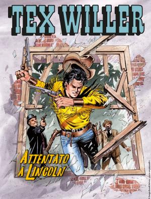 Attentato a Lincoln - Tex Willer 12 cover