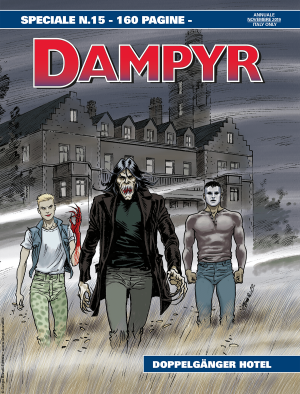 Doppelgänger Hotel - Speciale Dampyr 15 cover
