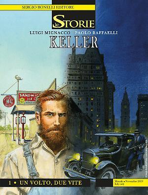 Keller 1 - Un volto, due vite - Le Storie 86 cover