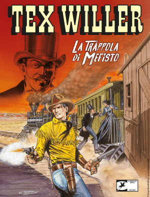 La trappola di Mefisto - Tex Willer 13 cover
