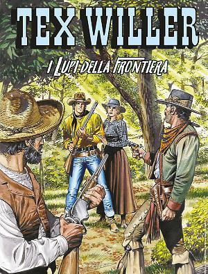 I Lupi della Frontiera - Tex Willer 16 cover