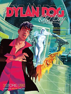 Maxi Dylan Dog n°38 cover