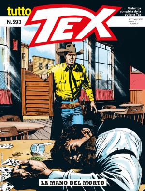 La mano del morto - Tutto Tex 593 cover