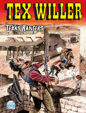 Texas Rangers - Tex Willer 28 cover
