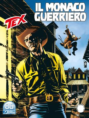 Il monaco guerriero - Tex 725 cover