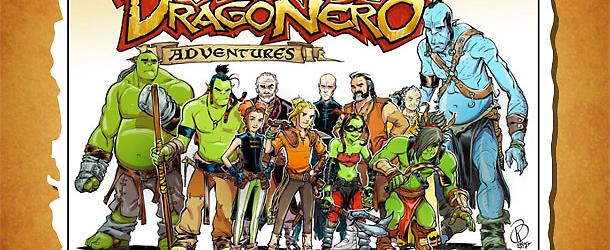 The characters in Dragonero Adventures!